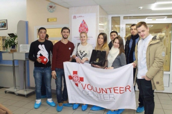 The First MSMU Volunteer Centre organized an international campaign for corporate blood donation