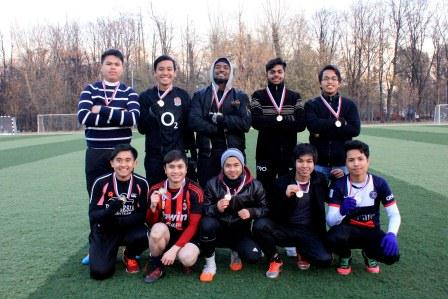 I.M. Sechenov 1st MSMU team won the football tournament of Malaysian students studying at Moscow universities