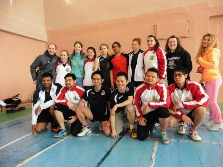 International students took active part in Sports Festival in Ryazan